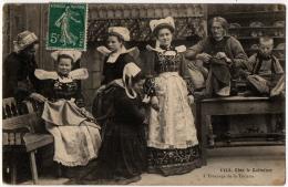 Bretagne  3 Cpa Tailleur Costume Coiffe 1910 état Superbe Et TB - France