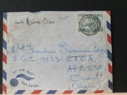 B/4168 LETTRE POUR ALGERIE - Lettres & Documents