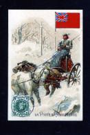 Rhum Labrador - Série La Poste - Angleterre - Traineau Neige - 10 446 - Non Classificati