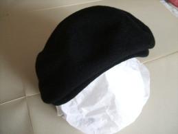 BERET Noir Pour Femme HOSSEGOR - Sombreros, Gorros, Tocados