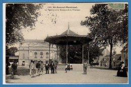 18 - SAINT AMAND MONTROND -- Le Théâtre Et Le Kiosque - Saint-Amand-Montrond