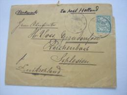 1916, Druckwerk To Duitschland, Zensur : Von Den Engländern Beschlagnahmte Post  ,  2 Scans - Nederlands-Indië