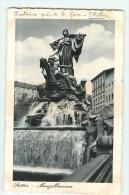 STETTIN - Manzelbrunnen - Fontaine Près De La Gare -  2 Scans - Pologne