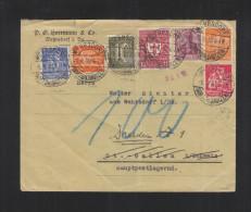 Dt. Reich Brief 1922 Wehrdorf Nach St. Gallen - Deutschland