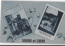 LAZIO-VITERBO-SORIANO NEL CIMINO GRUSS AUS VEDUTE - Italia