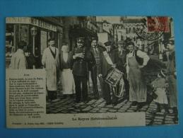 CP GARDE CHAMPETRE - LE REPOS HEBDOMADAIRE  - ECRITE EN 1908 - Métiers