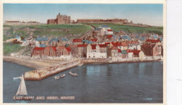 WHITBY -EAST CLIFF AND ABBEY - Whitby