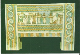Museum Of Herakleion. Sarcophagus From Haghia Triadha: Bloodless Sacrifice (about 1400 B. C.) - Articles Of Virtu