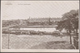 Allemagne - France 1915. Carte En Franchise Militaire. Cambrai, Le Port Cantimpré. Feldpost De La 6. Armee Valenciennes - Cambrai