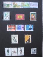 Timbres Belges : Année 1983 COB  N°2096 à 2111**  Uniformes / Exportations / Tourisme /PME/... - Belgique