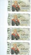 BILLETS DE LOTERIE - (10)  - LOTTERY TIKETS - PORTUGAL - 1992 - ROI D. PEDRO I - Altre Collezioni