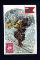Rhum Labrador - Série La Poste - Norwège Norvège - Imp Litho-Parisienne, Paris - 10 457 - Non Classificati