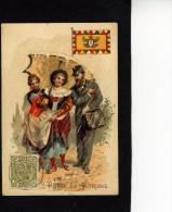 Rhum Labrador - Série La Poste - Autriche - Imp Litho-Parisienne, Paris - 10 462 - Non Classificati