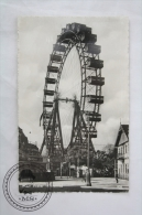 Old Real Photo Postcard Of Austria - Wien, Prater, Riesenrad/ Ferris Wheel - Unposted - Viena