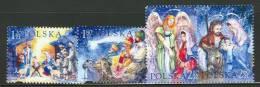 POLAND 2003 CHRISTMAS SET MNH - Navidad
