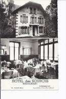 1 CPSM Petit Format. Sermamagny. Hôtel Des Sources. Restaurant - Other Municipalities