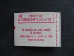 TB Carnet 1972 C3 , Neuf XX. - Usage Courant