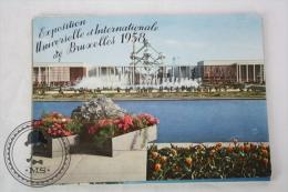 Belgium  Postcard Album/ Folder - Bruxelles/ Brussels Exposition Universelle Et Internationale 1958 - Exposiciones Universales