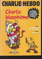 CHARLIE HEBDO HS N°  20 :  Charlie Blasphème  Dessins CHARB Et LUZ - Humour