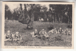 MAILLY 10 ( Militaria ) Le Camp : Fusils Mitrailleurs En Action - CPA - Aube - Mailly-le-Camp