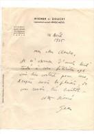 Jean Wiener.Lettre Autographe Signée à En-tête .1 Page.5 Lignes.16 Avril 1935.envoi à Claude Gével. - Autographs