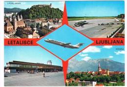 VV-248  LJUBLJANA : Multiview With Airport - Aerodrome