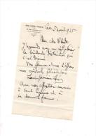 Louis-Germain Levy.Lettre Autographe Signée .6 Lignes.5 Avril 1935.envoi à Claude Gével. - Autographes