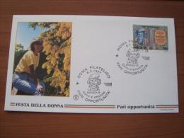 1997 FDC  Filagrano -  PARI OPPORTUNITA' - 6. 1946-.. Repubblica