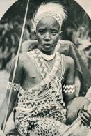 CARTE POSTALE MODERNE. AFRIQUE. RUANDA. LE ROI DE L´ URUNDI. - Ruanda-Urundi