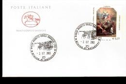 2003 ANNULLO FDC 3° Centenario Della Nascita Di Corrado Giaquinto (1703-1765), Pittore. - Religieux