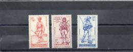 INDOCHINE : Défense De L´Empire : Infanterie Colonale, Tirailleur Tonkinois, Légionnaire - Soldats - Armée - - Neufs