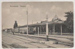 Essentuki.Railway Station. - Russia