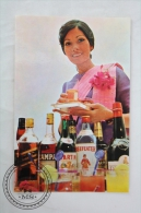 Airline Transport Postcard -  Thailand Airlines - Thai International's Royal Orchid Service - Dirigibili