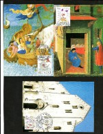 1987 SAN NICOLA Vaticano MAXIMUM Serie Cpl 3 Cartoline - Storia Postale