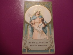 Santino - Maria Santissima Madre Di Misericordia -S71 - Devotion Images