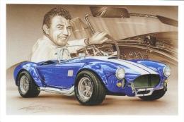 AC Cobra 427  -  Carroll Shelby  -  Tableau De Francois Bruère  -  Carte Postale - Voitures De Tourisme