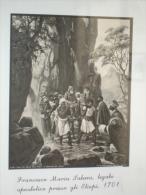 ANTONIO Da VIRGOLETTA Lunigiana /Prefetto Apostolico In Abissinia - Suakin 1641 Missionario Francescani - Fotografia - Religione & Esoterismo