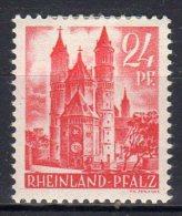 """Allemagne - 1947: Occupation Française """"Timbres Du RHENO-PALATIN""""   N° 8* - Zona Francese"""