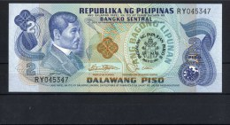 Filippine Philippines Philippinen Filipinas 1981 SPECIAL ISSUE Of 2 Pesos For Visit POPE John Paul II° RARE (see Photo) - Banconote