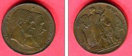 MEDAILLE 1830 -1880      ( KM M9   )  TTB   75 - Belgique