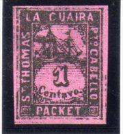 ST THOMAS-LA-GUAIRA : N° 3 (*) . ROBERT TOOD . 1864/70 . NSG . TB . - Venezuela