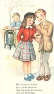 POSTAL   NI MORENA NI RUBIA  (COLEC. K  DE DIEZ POSTALES ) - Tarjetas Humorísticas