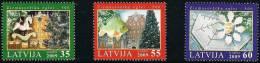 Latvia Lettland Lettonie 2009 (15)  Christmas Weihnachten Noël  (series) - Latvia
