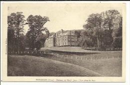 CPA ( Putanges , Chateau De Menil Jean ) - Putanges