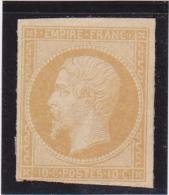 Timbre  N° 13 A  (*) Neuf Sans Gomme -  Voir Verso & Descriptif - 1853-1860 Napoléon III