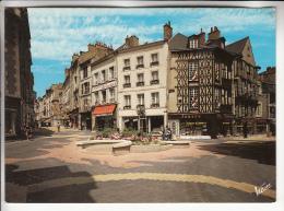 CENTRE VILLE ( Commerces Rues Animées) BLOIS 41 -Rues Du Commerce ( Enseigne NOUVELLE REPUBLIQUE ) CPM GF Loir Et Cher - Blois