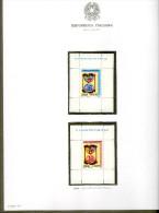 ITALIA 1967/2018  COLLEZIONE NUOVA - 5 Album - 430 Fogli Circa (manca Solo Foglietto 1999 Milan) - Lotti E Collezioni