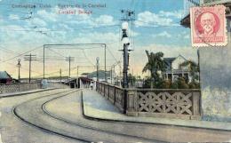 CAMAGÜEY CUBA KUBA, Puente De La Caridad, Caridad Bridge, Gelaufen 1900?, Original Frankierung - Kuba