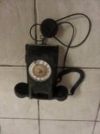 Ancien Téléphone Appareil Mural BL Ou BC - Equipement