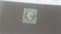 LOT 240558 TIMBRE DE FRANCE OBLITERE N�11 VALEUR 100 EUROS